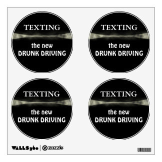 TEXTING ~ Wall decal