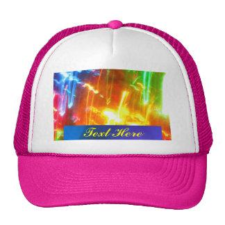 Texto abstracto aquí gorra