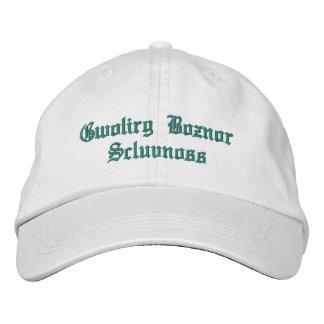 TEXTO ajustable personalizado 1 del MISTERIO del g Gorra De Béisbol