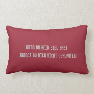 Texto alemán - humor cojines