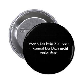 Texto alemán - humor chapa redonda 5 cm
