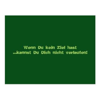 Texto alemán - humor postal
