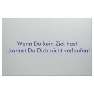 Texto alemán - humor tela