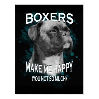 Texto animal del arte de los amantes del perro del postales