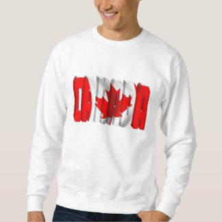 Texto canadiense de la bandera de CANADÁ Jersey