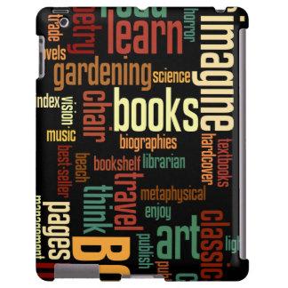Texto colorido del otoño de los aficionados a los funda para iPad