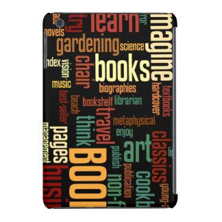 Texto colorido del otoño de los aficionados a los fundas de iPad mini