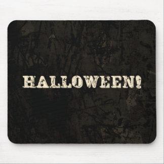 Texto de Halloween Alfombrilla De Raton