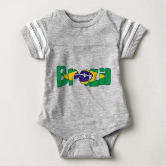 texto de la bandera del Brasil Camisas