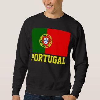 Texto de la bandera del mundo de Portugal Suéter