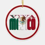 Texto de la bandera mexicana de VIVA MEJICO