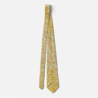 Texto de la Carta Magna Corbata Personalizada