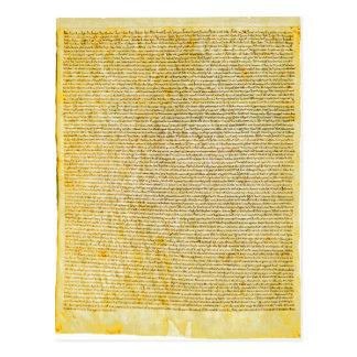 Texto de la Carta Magna Postal