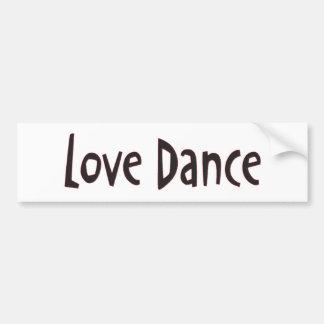 Texto de la danza del amor pegatina para auto