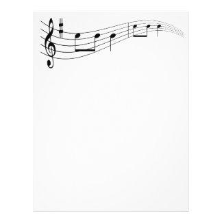 """Texto de la música folleto 8.5"""" x 11"""""""