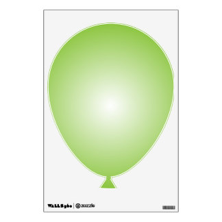 Texto de la plantilla el   DIY del globo el   del Vinilo Decorativo
