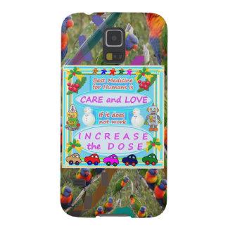 Texto de la sabiduría: Amor humano del cuidado n Carcasa De Galaxy S5