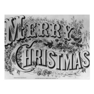 Texto de las Felices Navidad Postal