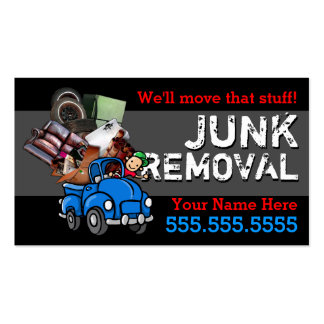 Texto de los desperdicios Removal.Hauling.Got Tarjetas De Negocios