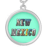 Texto de New México, los E.E.U.U. Colgante Personalizado