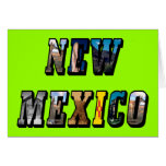 Texto de New México, los E.E.U.U. Felicitacion