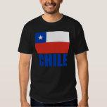 Texto del azul de la bandera de Chile Playeras