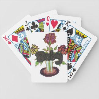 Texto del bebé que oculta plant.png barajas de cartas
