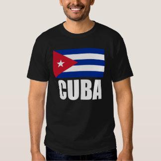 Texto del blanco de la bandera de Cuba Poleras
