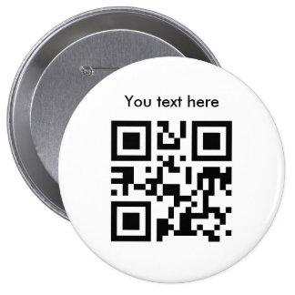 Texto del botón (enorme, de encargo) pin