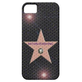 texto del cambio de la estrella de Hollywood de la iPhone 5 Carcasas