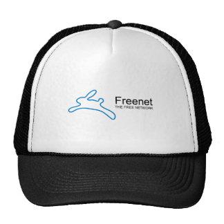 Texto del conejito del freenet gorras de camionero