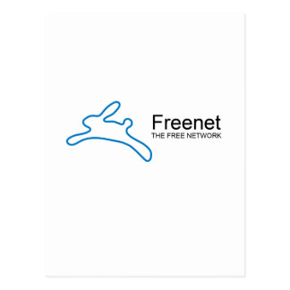 Texto del conejito del freenet postales
