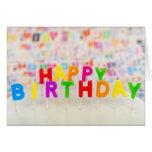 Texto del feliz cumpleaños tarjetas