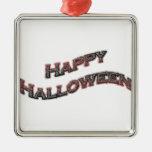 Texto del feliz Halloween Adorno