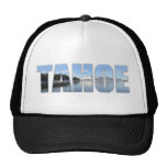 Texto del lago Tahoe Gorro