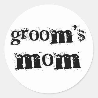 Texto del negro de la mamá del novio etiqueta