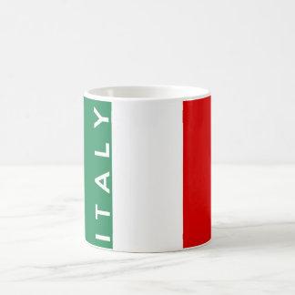 texto del nombre del símbolo de la bandera de país taza clásica