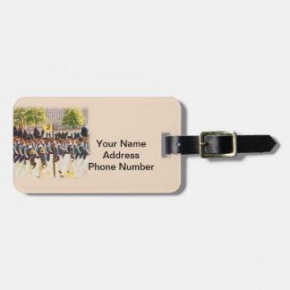 Texto del personalizable de los cadetes de West Po Etiquetas Bolsa
