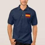 Texto del rojo de la bandera de Alemania Camisetas