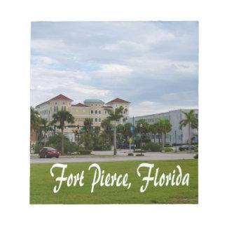 texto del sur céntrico de Fort Pierce w Libretas Para Notas