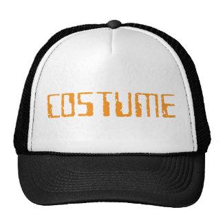 Texto del traje de Halloween solamente Gorro De Camionero