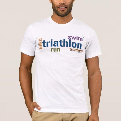 Texto del Triathlon Playera