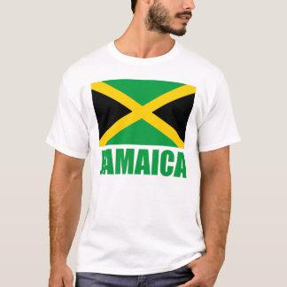 Texto del verde de la bandera de Jamaica Playera