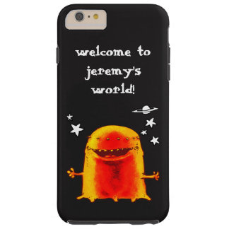 texto extranjero extraño divertido del funda resistente iPhone 6 plus