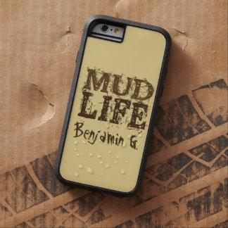 Texto fangoso de la vida del fango funda para  iPhone 6 tough xtreme