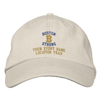TEXTO fuerte de Boston Personalizable EDIT Gorras Bordadas