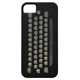 Texto la manera pasada de moda iPhone 5 fundas