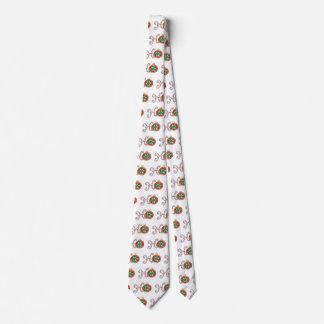 Texto lindo del navidad, Ho en ornamentos de los Corbata Personalizada