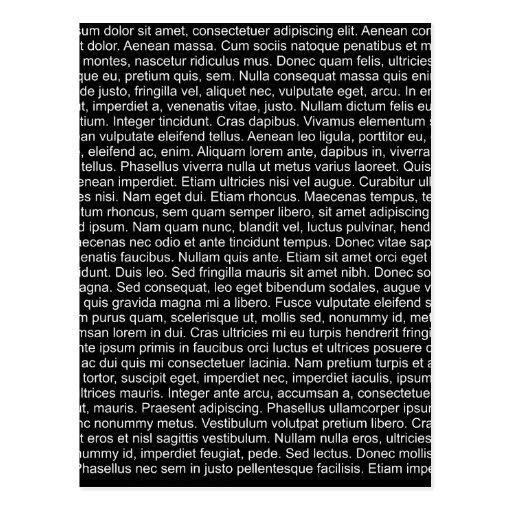 texto lorem de ciego dummy text ipsum tarjetas postales