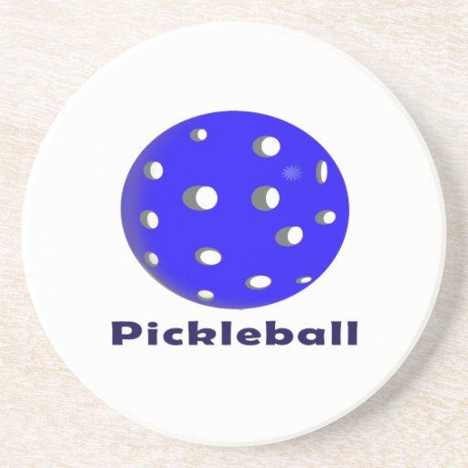 texto n ball.png azul del pickleball posavasos cerveza